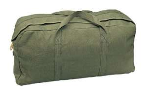 LARGE MECHANIC TOOL BAG 4 POCKETS BLACK & OLIVE