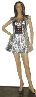 Light Up Robot Costume sexy womens robot Halloween costume sexy light