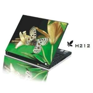 15.4 Laptop Notebook Skins Sticker Cover H212 Butterfly