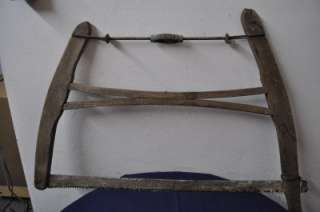 ANTIQUE BUCK SAW PRIMITIVE FARM TOOL Item #T106