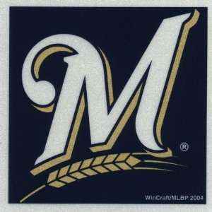 Brewers   Logo Reflective Decal   Sticker MLB Pro Baseball: Automotive