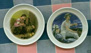 Small Plates Edelstein Bavaria Germany Man Water Wome