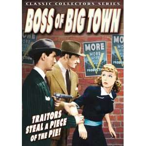 Boss of Big Town   11 x 17 Poster