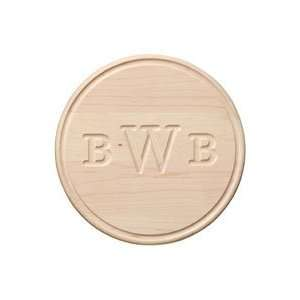 Maple Round Cutting Board   Small Kitchen & Dining