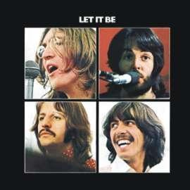 Button   Beatles   Let It Be Album Cover   1.5 Square