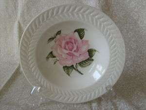 THEODORE HAVILAND ROSE CHINA, (1) SOUP BOWL