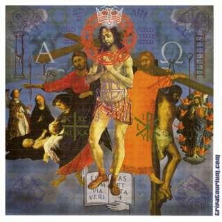 Jesus LSD Blotter Art Print by Rev Samuel
