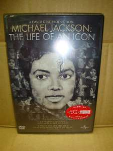 new sealed hk dvd/the life of an icon.michael jackson/chinese