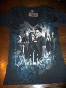CUTE Twilight LOT Size S Shirts Black Group Tee Embrace