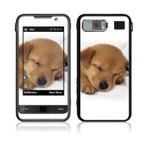 Samsung Omnia (i910) Decal Skin   Animal Sleeping Puppy