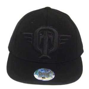 TAPOUT FLEX FIT BLACK EAGLE LOGO MMA UFC HAT CAP L/XL