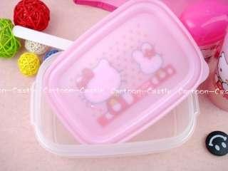 Hello Kitty&Bunny School Lunch Box Bag Tote Set SKU 060315A09013