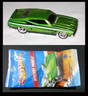 2012 Hot Wheels Mystery Models 73 Ford Falcon XB Custom Plus one