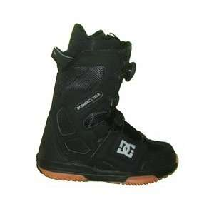 DC Scout Mens Boa Stock Liner Snowboard Boots Size 6 Black