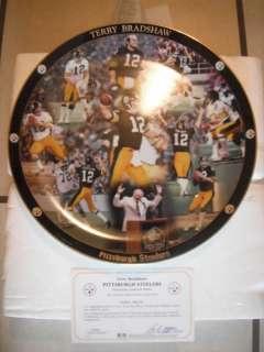 Terry Bradshaw #12 Pittsburgh Steelers Danbury Mint Commemorative