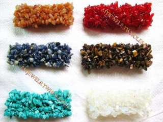 wholesale lots 12 pieces big Natural stone bracelet.
