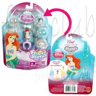 SQUINKIES Disney Princess ARIEL Bubble Pack Set