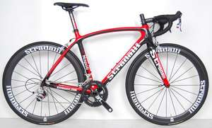 STRADALLI NAPOLI SRAM RED FULL CARBON ROAD BIKE RACE BICYCLE m