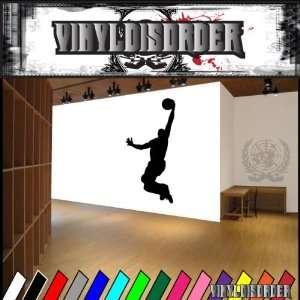 Basketball Lay Up Ball Bball Sport Sports Vinyl Decal