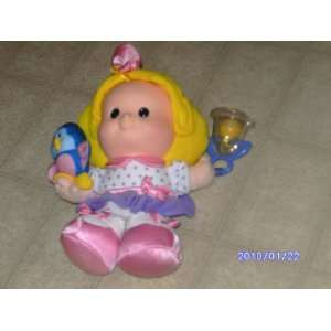 People Giggle Friends Sarah Lynn with Blue Bird Collectible Plush Doll