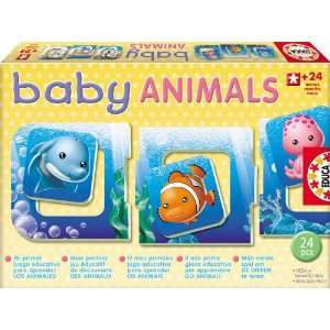 Educa Borras Baby Animals 24 Piece Puzzle Toys & Games