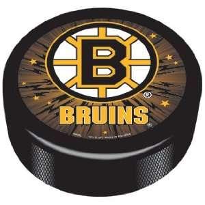 NHL Boston Bruins Logo Hockey Puck *SALE* Sports