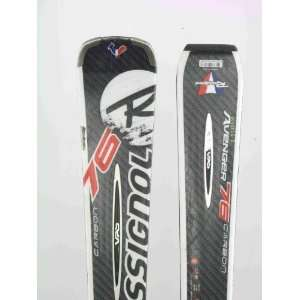Used Rossignol Avenger 76 Carbon Snow Ski C Chips: Sports & Outdoors