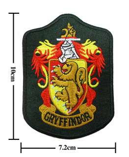 Harry Potter Crest Iron Gryffindor Patch Badge(B 2)