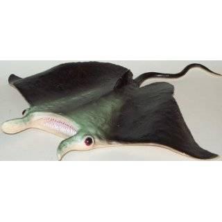 Large Manta Ray; Lifelike Rubber Stingray Replica of Sealife