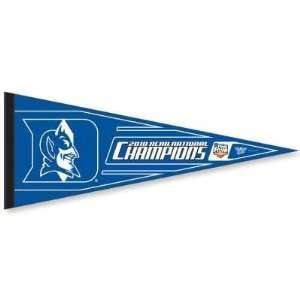 DUKE BLUE DEVILS 2010 NCAA BASKETBALL CHAMPS PENNANT