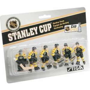 Stiga Boston Bruins Table Rod Hockey Players Sports
