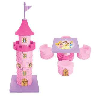 Disney Princess Pink Castle Table and 4 Chairs Set New in Box