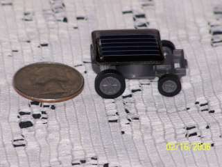 the world s smallest solar powered mini toy car makes