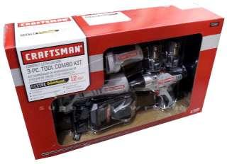 New Craftsman Nextec 12V 3 Tool Combo Kit Drill, Multi Tool & LED