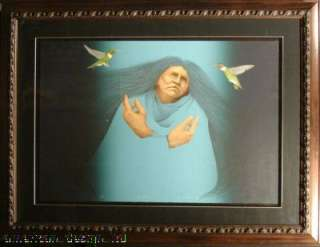 Visitation Custom Framed Ori Lithograph Signed Art SUBMIT AN OFFER