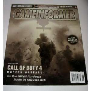 Informer Magazine June 2007 Call of Duty 4 Modern Warefare Books