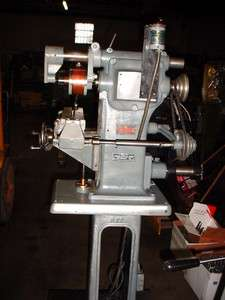 Estate Sale BURKE Model No 4 Horizontal Vertical Bench Milling Machine