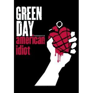 GREEN DAY AMERICAN IDIOT FLAG TEXTILE POSTER BRAND NEW