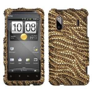 Diamond BLING Hard Case Phone Cover for Sprint HTC EVO Design 4G