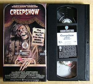 Stephen Kings CREEPSHOW Mint VHS 085391130635