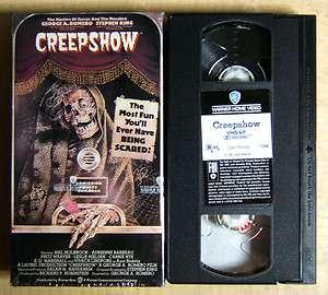 Stephen Kings CREEPSHOW Mint VHS 085391130635