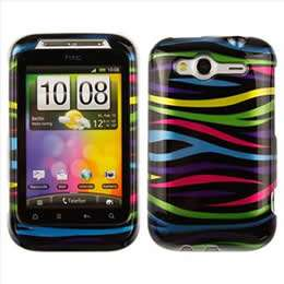 Zebra Hard Case Cover for T Mobile HTC Wildfire S Accessory