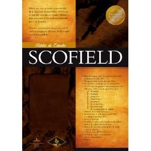 RVR 1960 Biblia de Estudio Scofield, imitacion piel