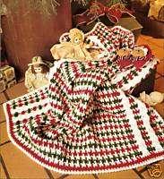PRETTY Candy Stripe Baby Afghan/Crochet Pattern |