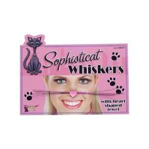 Novelties 58450 Cat Whiskers Accessory and Makeup