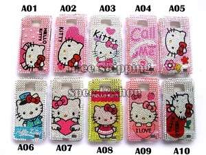 10 x Hello kitty Bling Case for Samsung Galaxy S2 i9100