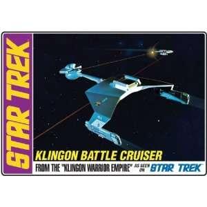AMT 1/650 Star Trek Klingon Battle Cruiser from Klingon