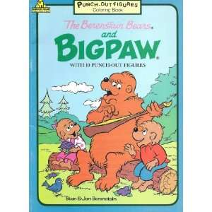 Bears and Big Paw Coloring Book [With 10 Punch out Figures]: Books