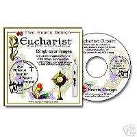 Eucharist Holy Communion Catholic Clipart Images CD