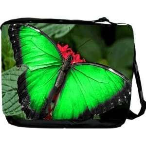 Rikki KnightTM Neon Green Messenger Bag   Book Bag